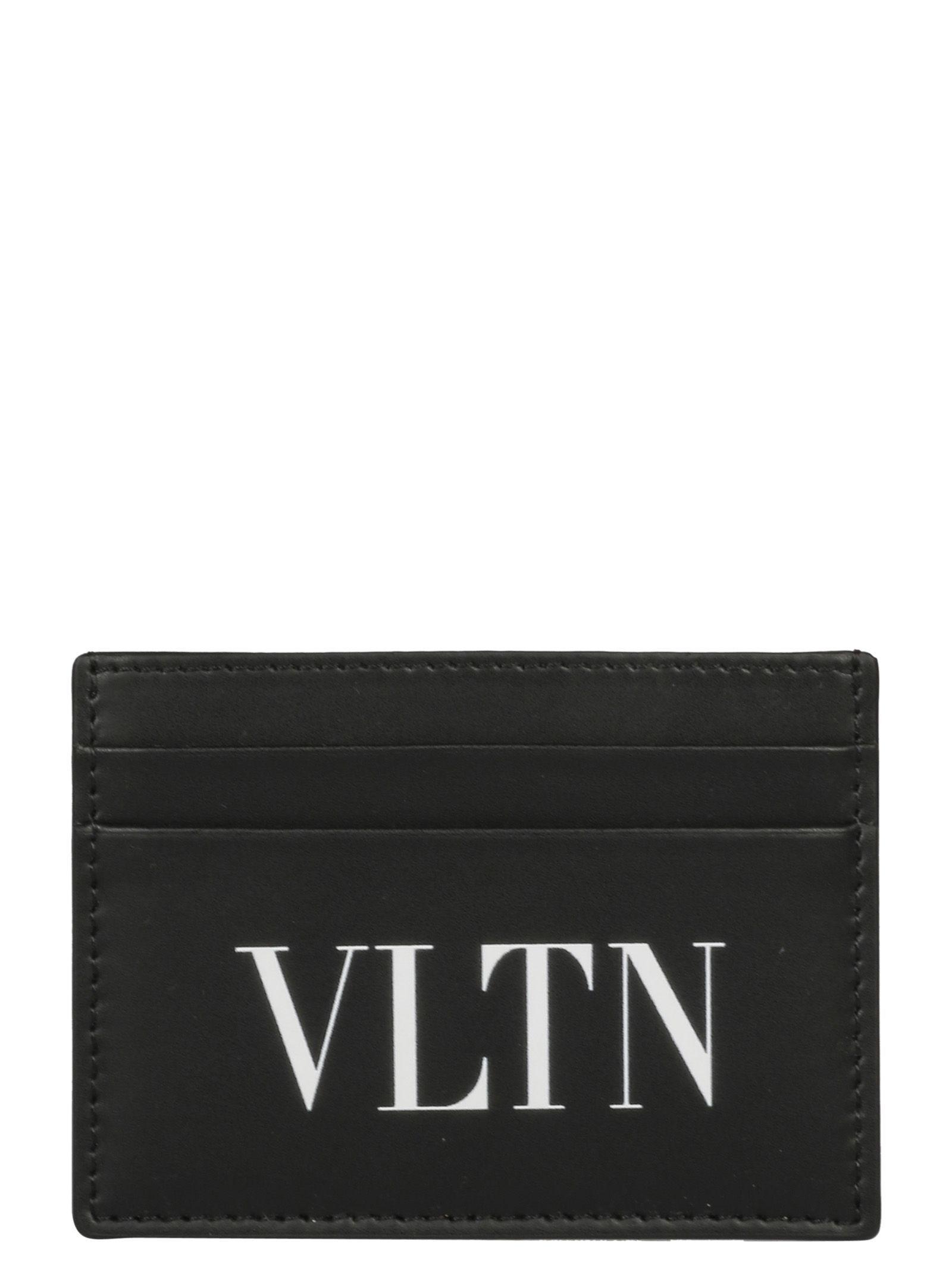 valentino garavani herren vltn logo card case 10688273. Black Bedroom Furniture Sets. Home Design Ideas
